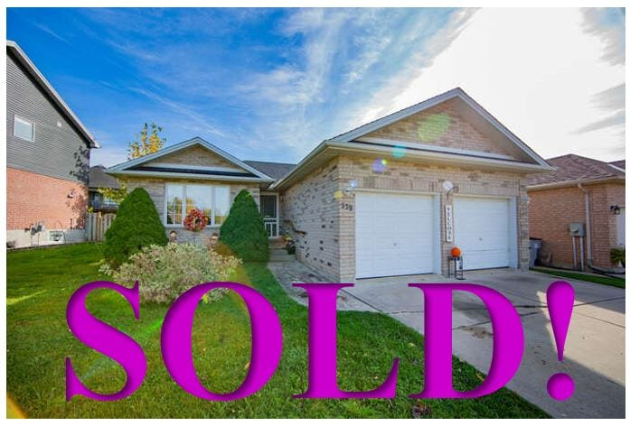 SOLD! 539 Agnes Drive, Strathroy