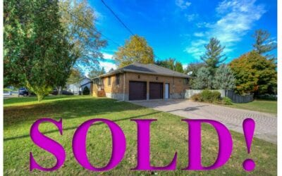 SOLD!! 2276 Gore Street, Mount Brydges