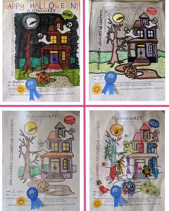 Colouring contest winners!