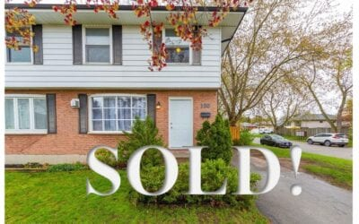 SOLD!! 190 Spence Drive, Strathroy